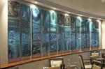Стекло фьюзинг для кафе и ресторанов — Мир стекла и зеркал Чебоксары
