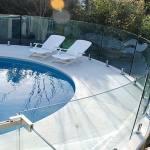 Гнутое стекло для ограждения бассейна — Мир стекла и зеркал Чебоксары
