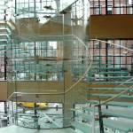Моллированное стекло для лестниц — Мир стекла и зеркал Чебоксары