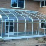 Гнутое стекло для загородного дома — Мир стекла и зеркал Чебоксары