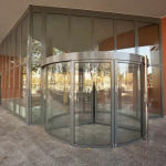 Гнутое моллированное стекло для входных групп — Мир стекла и зеркал Чебоксары