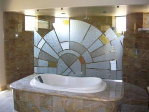 Пескоструй для ванной — компания Мир стекла и зеркал
