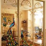 Витраж заливной для шкафа-купе — компания Мир стекла и зеркал