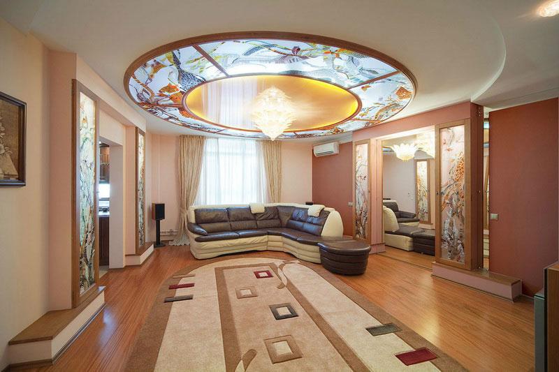 Витраж заливной — компания «Мир стекла и зеркал» Чебоксары