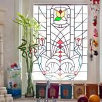 Витраж заливной для кухни — компания Мир стекла и зеркал