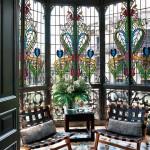 Витраж заливной для балкона — компания Мир стекла и зеркал