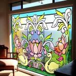 Витраж заливной для загородного дома — компания Мир стекла и зеркал