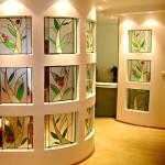 Витраж наливной для межкомнатных перегородок — компания Мир стекла и зеркал