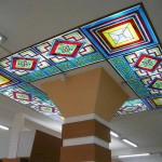 Витраж наливной для потолка — компания Мир стекла и зеркал
