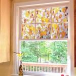 Витраж наливной для окна — компания Мир стекла и зеркал