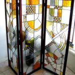 Витраж заливной для ширмы — компания Мир стекла и зеркал