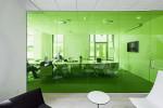 Стеклянные двери и перегородки цветное стекло — компания Мир стекла и зеркал