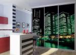 Стеклянные двери фотопечать — компания Мир стекла и зеркал