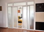 Двери купе узорчатое стекло — компания Мир стекла и зеркал