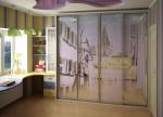 Двери купе пескоструйная обработка — компания Мир стекла и зеркал