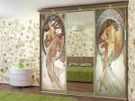 Двери купе для спальни — компания Мир стекла и зеркал
