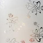 Стекло узорчатое Букет — Мир стекла и зеркал