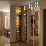 Зеркальное панно с пескоструйным рисунком — Мир стекла и зеркал