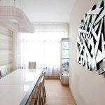 Зеркальное панно в авангардном стиле — Мир стекла и зеркал