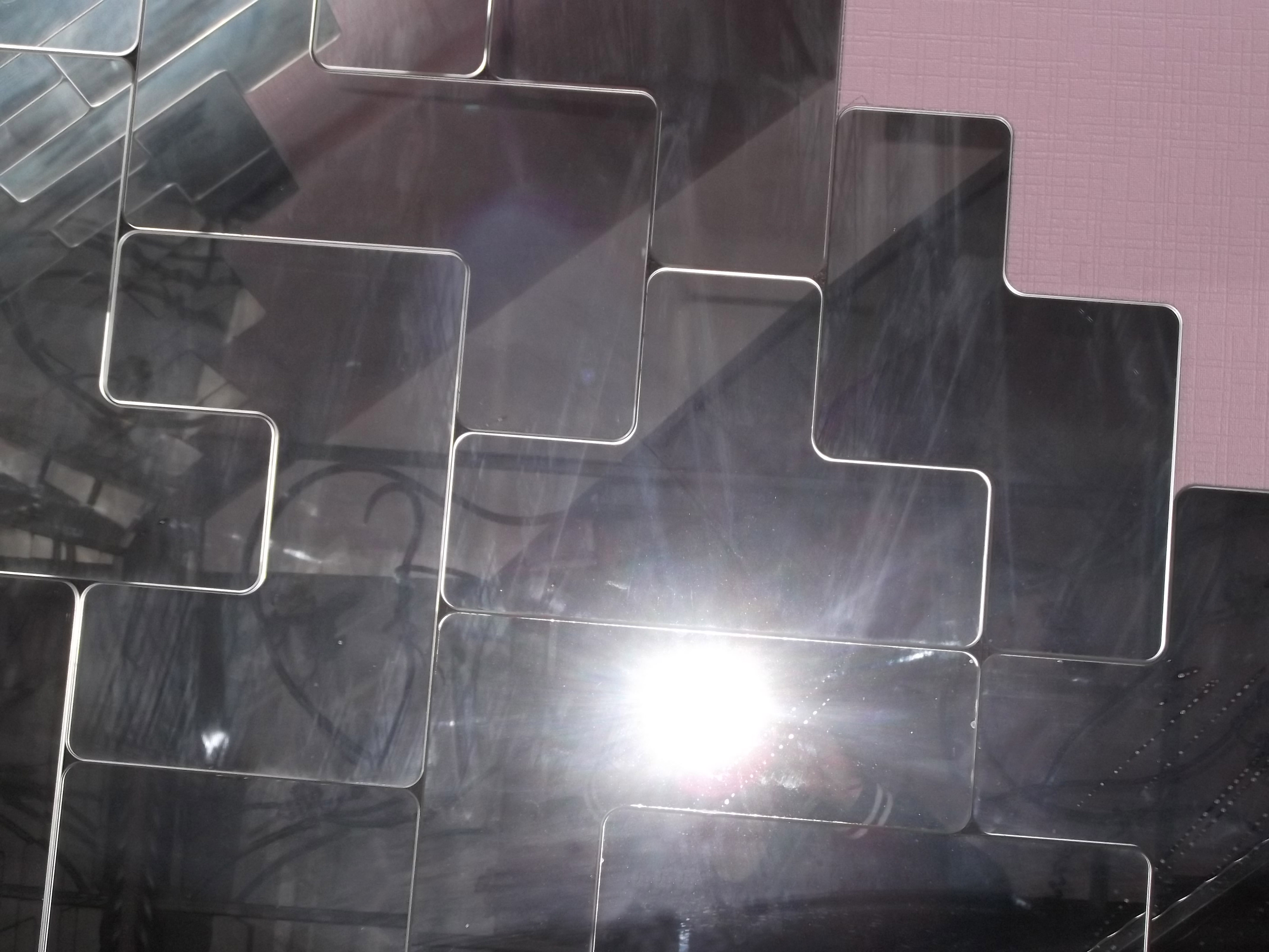 Зеркальная плитка-тетрис
