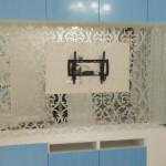 Ниша зеркальная с пескоструйным рисунком